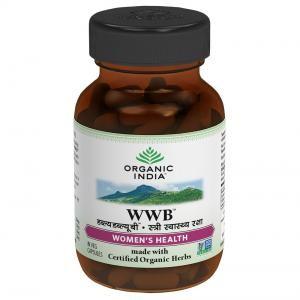 Organic India WWB 60 Capsules Bottle
