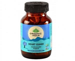 Organic India Heart Guard 60 Capsules Bottle
