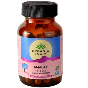Organic India Amalaki 60 Capsules Bottle