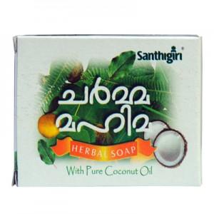 Santhigiri Charma Mahima Herbal Soap (6 Nos)