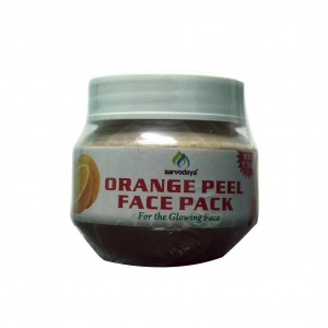 Sarvodaya Orange Peel Face Pack