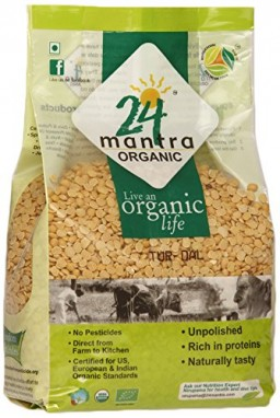 24 Mantra Organic Tur Dal Standard
