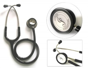 Jitron Adult Dual Head Stethoscope-Stainless Steel-JT-S601PF