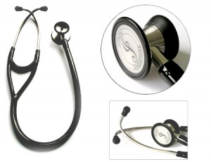 Jitron Cardiology Dual Head Stethoscope-Stainless Steel-JT-S747PF