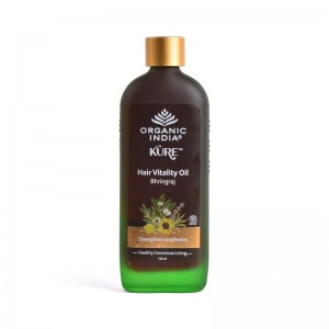 Organic India Hair Vitality Oil Bhringaraj 120 ml