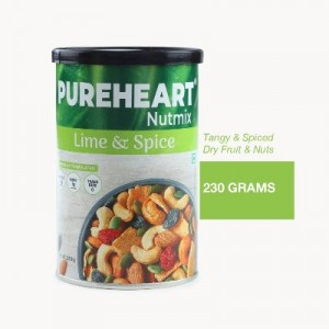 Pureheart NutMix LIME & SPICE 230 gm