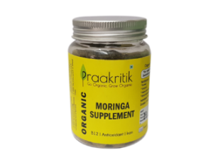 Praakritik Moringa Supplements 125 supplememnts 100g