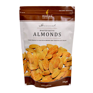 Rostaa Roasted Salted Almonds 200 gms