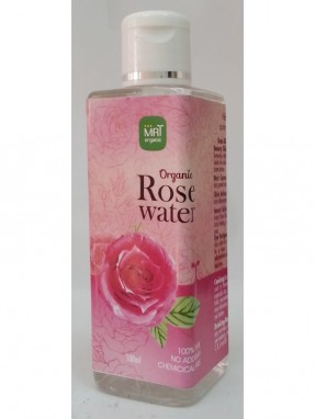 MRT Organic Rose Water 100 ml