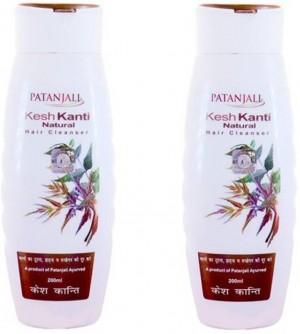 Patanjali Kesh Kanti Natural Hair Shampoo 200 ml Pack of two (400 ml)