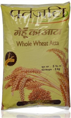 Patanjali Whole Wheat Atta 5kg