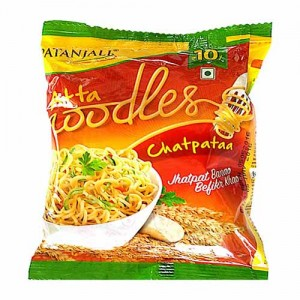 Patanjali Atta Noodles Chatpata 60 gms 10 Pack
