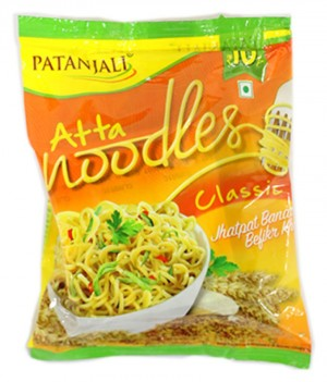 Patanjali Atta Noodles Classic 60 gms 10 Pack