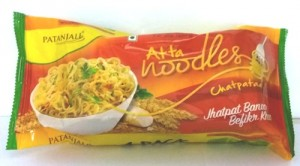 Patanjali Atta Noodles Chatpataa - Family Pack