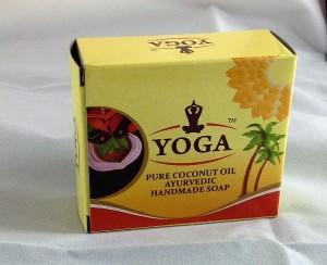 Yoga Pure Coconut Oil Soap 100 gms (4 Nos)