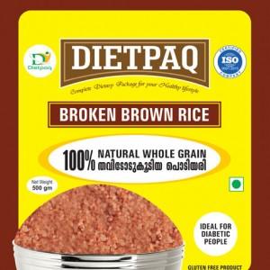 Dietpaq Broken Brown Rice 500 gms