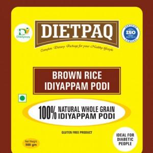 Dietpaq Brown Rice Idiyappam Podi 500 gms