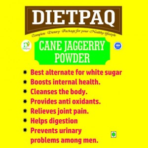 Dietpaq Cane Jaggery Powder 500 gms