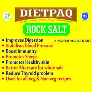 Dietpaq Rock Salt