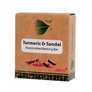 Apex Turmeric & Sandal Handcrafted Bathing Bar