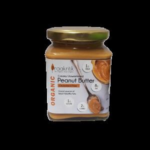 Praakritik Peanut Butter Unsweetened 275gm