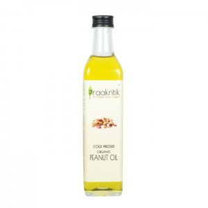 Praakritik Cold Pressed Peanut Oil 500 ml