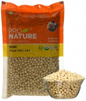Pro Nature Organic Peas (White) 500 gms