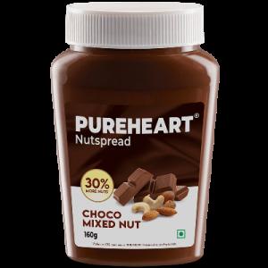 Pureheart Choco Mixed Nut Nutspread 160gms