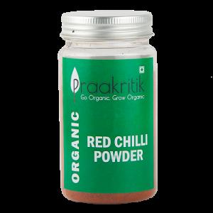 Praakritik Red Chilli Organic  100 gm