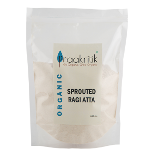 Praakritik Sprouted Ragi Atta 500gm