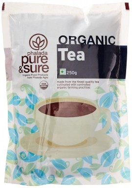 Pure & sure organic tea powder 250gm