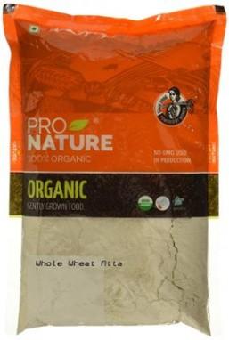 Pro Nature Organic High Fibre Atta (With Extra Bran) 1 kg
